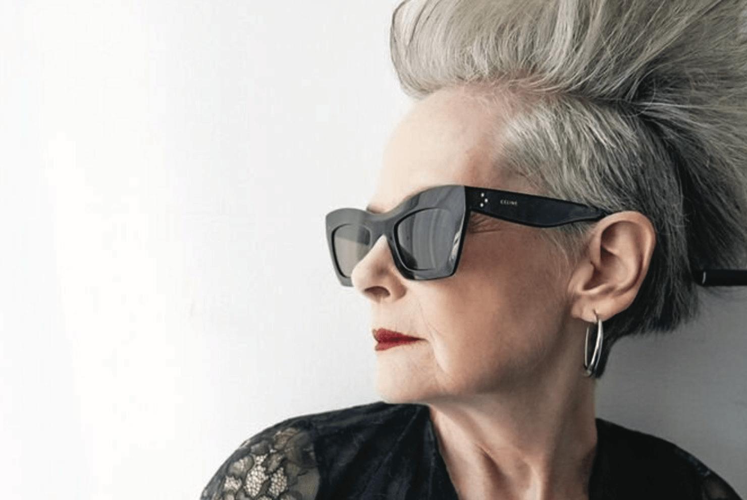 СЛУЧАЙНАЯ ИКОНА – самая знаменитая пожилая модель Лин Слейтер